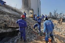 الجيش اللبناني: 7 مفقودين على الأقل جراء انفجار مرفأ بيروت