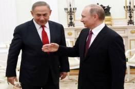 نتنياهو يهاتف بوتين ويبحثان الوضع في سوريا