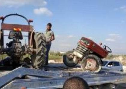5 إصابات بحادث تصادم غرب جنين
