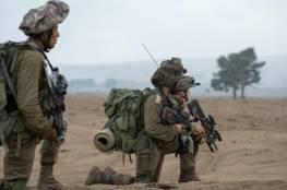 تدريبات عسكرية سيجريها الجيش الاسرائيلي اليوم على حدود غزة
