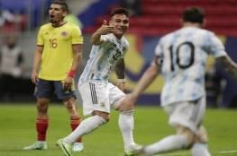 الأرجنتين تهزم كولومبيا وتفرض موقعة نارية مع البرازيل في نهائي كوبا أمريكا (فيديو)