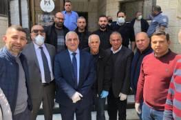 صندوق ووقفية القدس يقدم أربع شاحنات من المعدات الطبية والمواد لمراكز العلاج والحجر