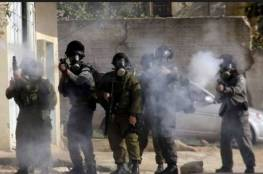 إصابة 10 مواطنين واعتقال اثنين خلال قمع الاحتلال المعتصمين في حي الشيخ جراح