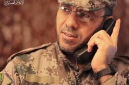بالصور: القسام يزف القائد باسم عيسى قائد لواء غزة