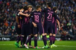 فيديو ..برشلونة يهزم إسبانيول ويستعيد صدارة الليجا