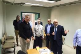 حميد وأبو كشك يتفقان على تجهيز جامعة القدس غرف عمليات بمستشفى فلسطين العسكري