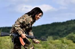 زوجة رئيس وزراء أرمينيا تعلن استعدادها للمشاركة في الحرب