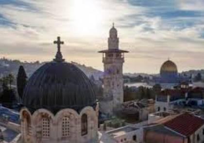 """خوري أمام مؤتمر """"اللقاء المشرقي"""": نعمل من أجل تثبيت الوجود المسيحي الأصيل في وطننا فلسطين"""
