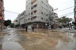 بالصور: سريان الإغلاق الشامل بقطاع غزة حتى صباح الأحد