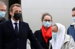 اعلان اسلامها أثار الجدل في فرنسا..ماكرون يستقبل آخر رهينة فرنسية