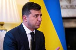 الرئيس الأوكراني يعلن إصابته بفيروس كورونا