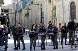 تعزيزات إسرائيلية بمحيط الأقصى استعدادًا لصلاة الجمعة الأولى من شهر رمضان