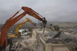 الاحتلال يخطر بهدم منشأة زراعية في الولجة غرب بيت لحم