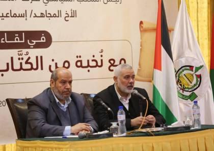 هنية :تسلمنا جدولاً زمنياً لتنفيذ تفاهمات التهدئة وحملنا الوفد المصري 3 مطالب للأسرى