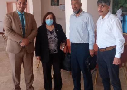 """تفاصيل لقاء """"الائتلاف الوطني"""" ووزيرة الصحة مي الكيلة في غزة"""