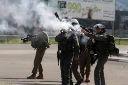 إصابات بالاختناق خلال قمع الاحتلال مسيرة كفر قدوم