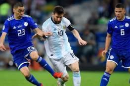 فيديو.. الأرجنتين تواصل التعثر بالتعادل مع باراجواي