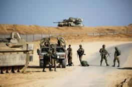 إصابة جندي إسرائيلي خلال تدريبات