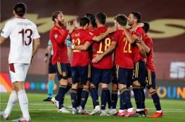 فيديو.. فوز شاق لإسبانيا على سويسرا