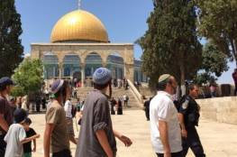 82 مستوطناً يقتحمون المسجد الأقصى