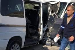 الخليل: مصرع شخصين وإصابة آخرين بحادث سير بوادي سعير