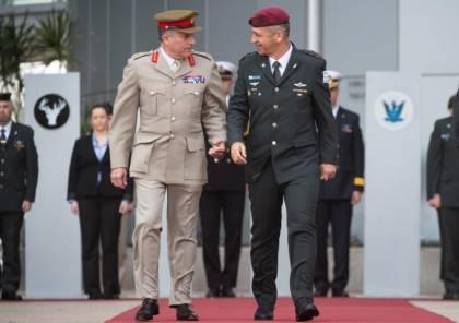 رئيس أركان الجيش البريطاني يصل تل أبيب ويتفقد الحدود الشمالية