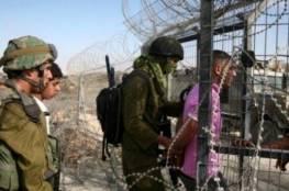 الاحتلال يعتقل مواطنا بزعم محاولته التسلل من غزة