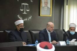 قضاة ومحامون شرعيون يؤكدون ضرورة  إصدار قانون القضاء الشرعي الفلسطيني
