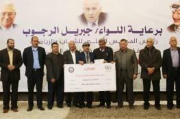 وصول أموال المنحة الخاصة بمساعدة أندية قطاع غزة
