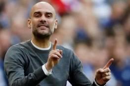 جوارديولا غير سعيد ويطلب التعاقد مع 4 لاعبين