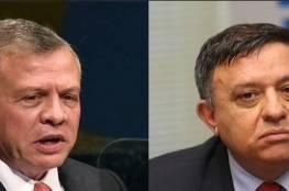 مباحثات هامة يجريها الملك عبد الله مع زعيم حزب العمل الاسرائيلي في عمان