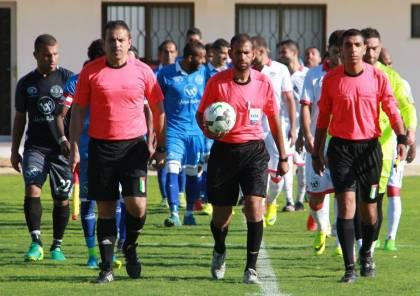 حكام غزة يهددون بتعليق مشاركتهم في كأس غزة!
