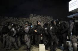 القدس: الاحتلال يجدد اقتحامه لمنطقة باب العامود ويعتدي على المقدسيين