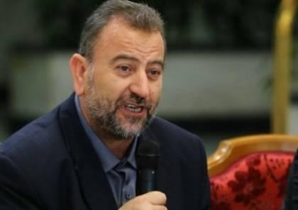 """العاروري: """"القسام"""" مع أيّ مصالحة لا تمسّ سلاح المقاومة"""