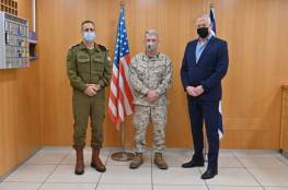 غانتس وكوخافي يلتقيان بقائد القيادة الوسطى الأمريكية..وهذا ما تباحثوا به