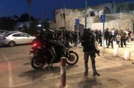 الشرطة الإسرائيلية تقمع مسيرة في اللد وتعتقل متظاهرين