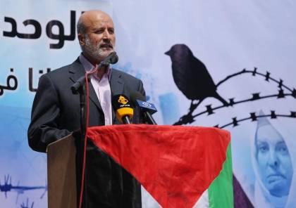 عليان يبعث رسالة للأسرى في سجون الاحتلال بمناسبة شهر رمضان المبارك