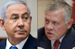 احتدام الأزمة بين اسرائيل والاردن: نتنياهو يرفض المصادقة على طلب أردني لتوريد المياه