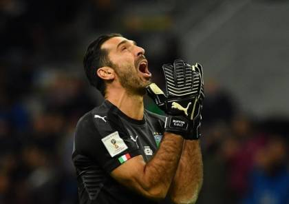 بوفون يعتزل اللعب دولياً ويعتذر لمشجعي منتخب إيطاليا