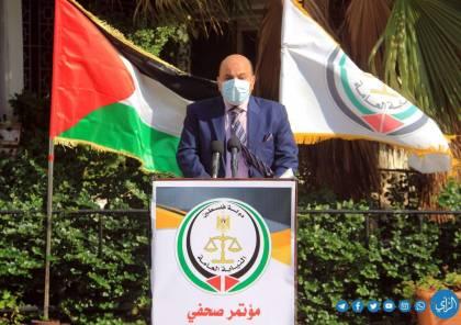 النيابة بغزة تعلن تشديد إجراءاتها بحق المخالفين وعقوبات تصل لسنتين حبس