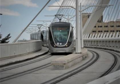 القدس : بلدية الاحتلال تبدأ اليوم العمل الفعلي في مسار السكة الحديدية للقطار الخفيف