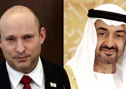 بينيت يهاتف ولي عهد أبو ظبي ويتفقان على لقاء قريب
