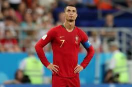 رونالدو يحتج علي حكم مباراة البرتغال واسبانيا ويثير غضبه