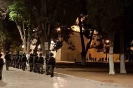 صور.. إصابات بالرصاص واعتقالات واسعة عقب اقتحام الاحتلال للمسجد الأقصى