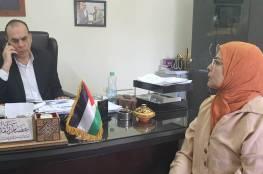 أمين عام المجلس الأعلى للشباب والرياضة يستقبل وفد الاتحاد الدولي للملاكمة العربية