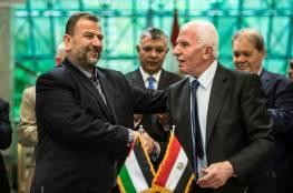 المخابرات المصرية تبدأ لقاءات مع مسؤولي الفصائل لبحث تطبيق بنود اتفاق المصالحة