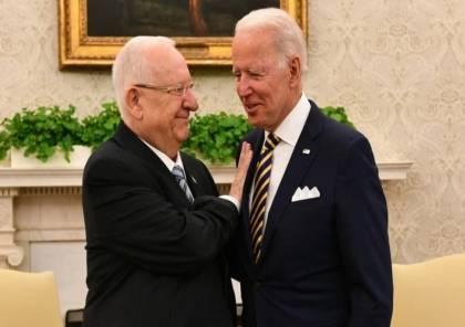 """""""رسالتان مهمتان للغاية"""".. سفير اسرائيل يكشف تفاصيل اجتماع ريفلين مع بايدن"""