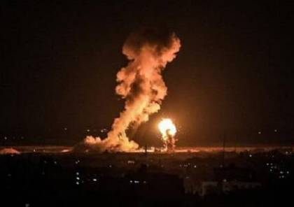 الاحتلال يقصف عدة أهداف في قطاع غزة...فيديو