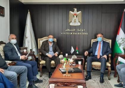 الوزير عساف يبحث مع وزير الثقافة التعاون المشترك بإطلاق فعاليات بيت لحم عاصمة الثقافة العربية