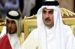 أمير قطر يعزي بايدن